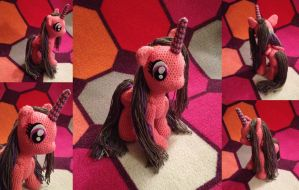 Custom My Little Pony Amigurumi Doll by Flyinfrogg