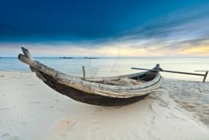 Fisherman boat by MotHaiBaPhoto