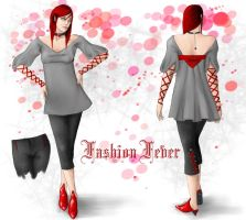 Fashion Fever:  Challenge One by RomanticFae