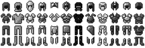 [16x] Default Armors by Balduranne
