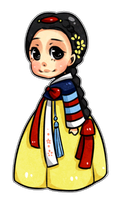 Disney Hanboks: Snow White by kiimcakes