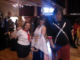 Me with Daniel and Yuna cosplayer ^^ by OtakuRhi