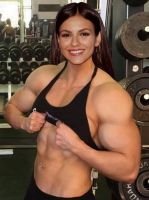 Victoria Justice Muscle Morph by Turbo99