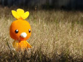 Torchic Plushie by HidingInTheClouds