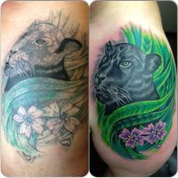 Ruslan Old Tattoo Rework by HammersmithTattoo