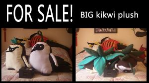 Kikwi plush for sale by Shirokitty