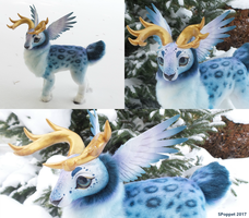 OOAK Artdoll: Snow Angel by SPoppet