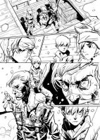 Sequential Art by M3W4gunner