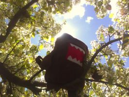 Domo in the Blossom Tree by lemon-stockings