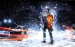 Battlefield 3 Winter Wallpaper by Scotchlover
