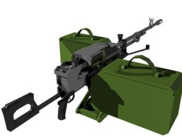 Kord Heavy Machine Gun 2 by senor-freebie