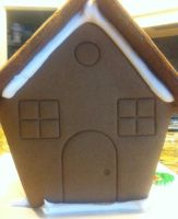 Laziest Gingerbread House Ever by NearRyuzaki90