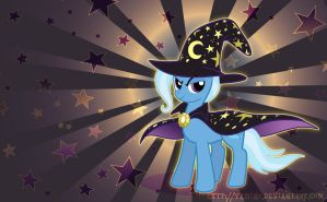 Dark Trixie Wallpaper by Yamino
