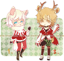 Auction : Christmas Theme [CLOSED] by HyRei