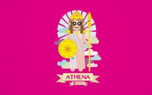 The Greek Mythology Character Design -  Athena