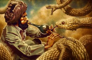 The Snake Charmer by ZachSmithson