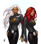 AH storm and jean by cakes