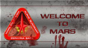 Welcome to Mars by Hayter