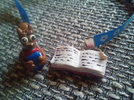 little Booki Bookmark by NekoMimiAlice