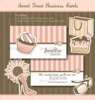 Sweet Treats Business Cards by rfertner