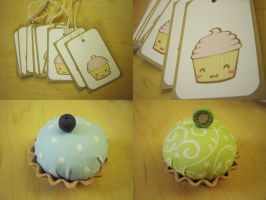 craft: cushions and tags by jinnybear