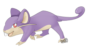 Nr.19 Rattata by Zusuriki