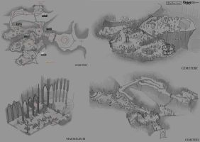 Level Designs - Fake Medievil Remake Project by SilentIvo