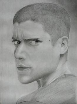 Wentworth Miller alias Michael Scofield by The-Lionet