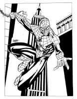 Spider-Man Inked by dtor91