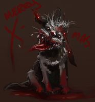 Dailies: Zombie dog by cypritree