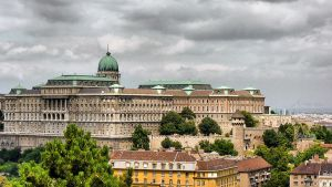 Buda Castle quarter by Noncsi28