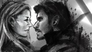 Captain Swan by Loorae