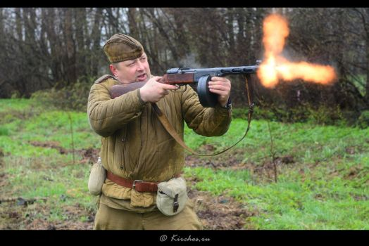WW2 Reenactment - Fire at will by Kirchos