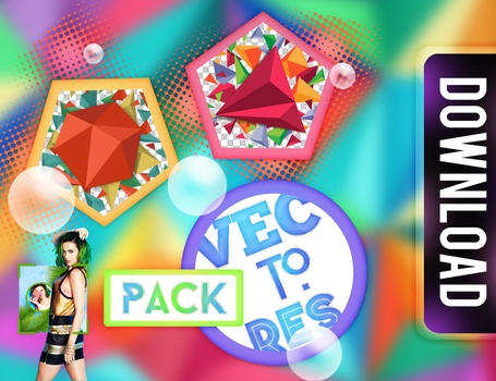 +PACK VECTORES by swxt-moon