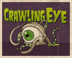 Crawling Eye by paulorocker