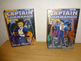 Captain Commando Manga 1 and 2 Front by Aioros87