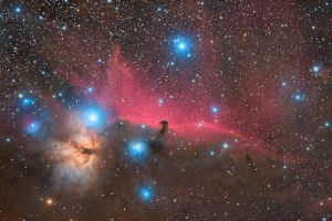IC 434 - Horsehead Nebula by ZeSly