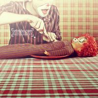 EATING A CLOWN by cetrobo