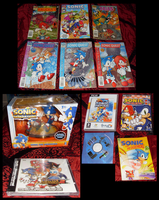 Sonic Collection .:Update 3:. by VeggieMadness