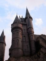 Hogwarts castle by theprophetchuck