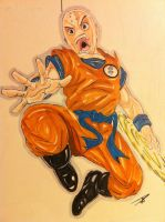 Krillin by Dericules