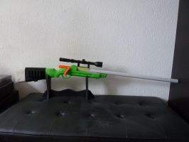 WIP: BuzzBee RSCB-Hunter/Bolt-Action Hunting Rifle by hoellenhamster