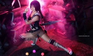 Final Fantasy VII - Yuffie Kisaragi by vaxzone
