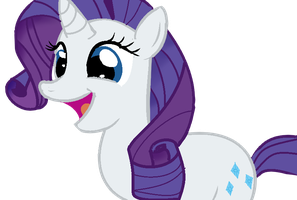 Rarity by Kittenzarecute123