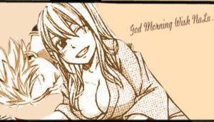 NaLu GodMorning GIF by felixne