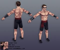 MK1 Johnny Cage by Jiggeh