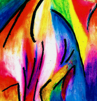Expressionism - Rainbow Happiness by CaptainBeth
