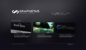 Graphstas website black by graphstas