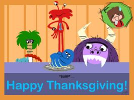 Foster's Thanksgiving by luvtuya