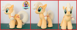 Apple Jack Custom Plush by SnuggleFactory
